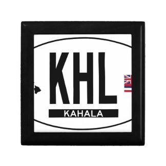 Hi-KAHALA-Sticker Keepsake Box