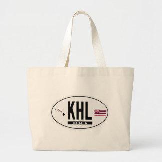 Hi-KAHALA-Sticker Large Tote Bag