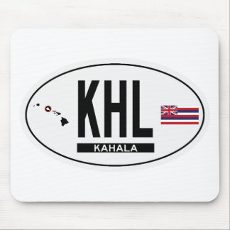 Hi-KAHALA-Sticker Mouse Pad
