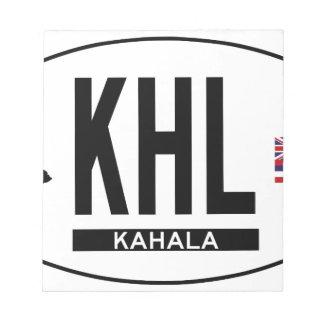 Hi-KAHALA-Sticker Notepad
