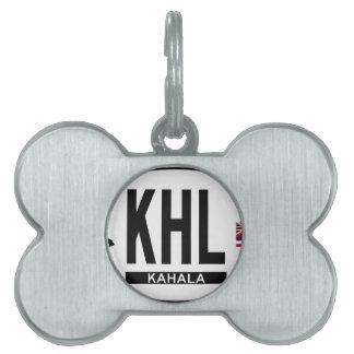 Hi-KAHALA-Sticker Pet ID Tag