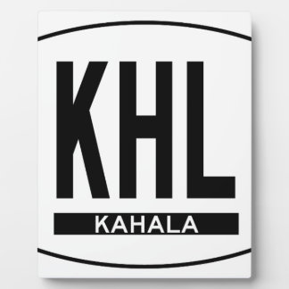 Hi-KAHALA-Sticker Plaque