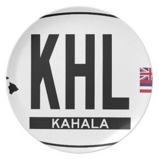 Hi-KAHALA-Sticker Plate