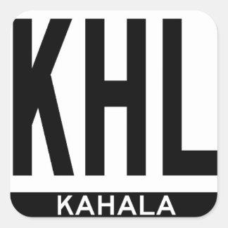 Hi-KAHALA-Sticker Square Sticker