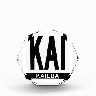 Hi-KAILUA-Sticker Acrylic Award