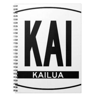 Hi-KAILUA-Sticker Notebook