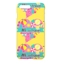 Hi-Lo Travel iPhone X Case - Yellow