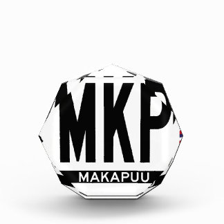 Hi-MAKAPUU-Sticker Acrylic Award
