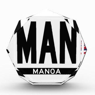 Hi-MANOA-Sticker Acrylic Award