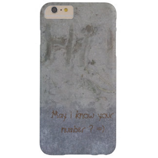 Hi, May i know your number? =) Barely There iPhone 6 Plus Case