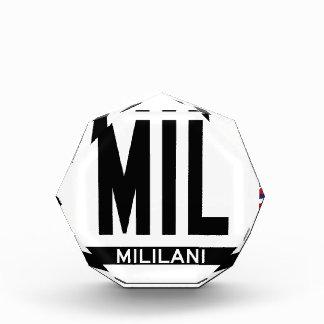 Hi-MILILANI-Sticker Acrylic Award