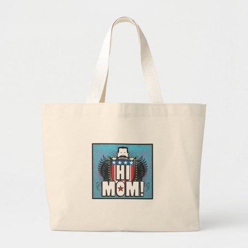 Hi Mom Canvas Bag