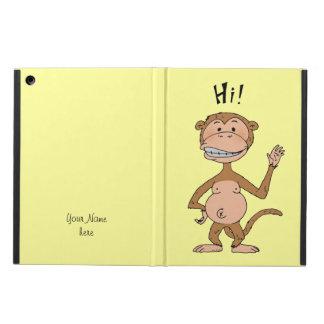 HI monkey iPad Air Covers