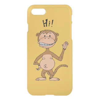 HI monkey iPhone 7 Case