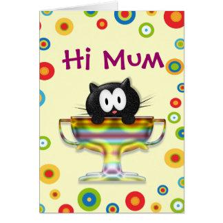 Hi Mum Card