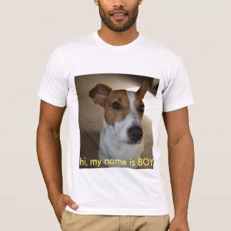 hi, my name is BOY T-Shirt