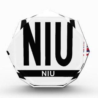 Hi-NIU-Sticker Acrylic Award