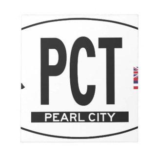 Hi-PEARL-CITY-Sticker Note Pad