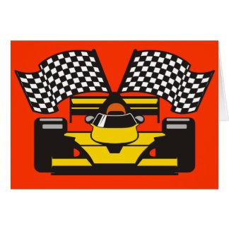 Hi Performance Driver Greeting Card