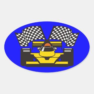 Hi Performance Driver Oval Sticker