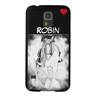 Hi-Point with red heart Galaxy S5 Cases