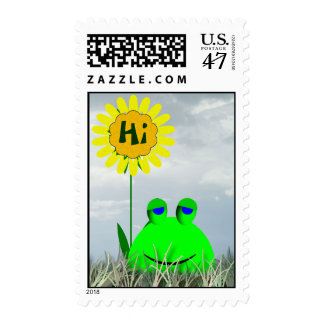 Hi Postage Stamp