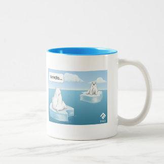 Hi Radio... Two-Tone Coffee Mug