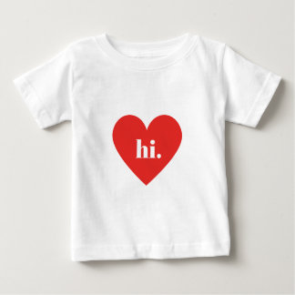 HI Red Heart Illustration Valentines Collection Tee Shirt