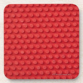 Hi-Res macro image of a studded ping pong Beverage Coaster