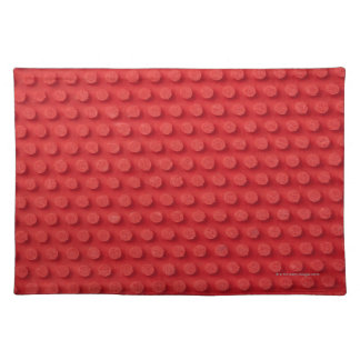 Hi-Res macro image of a studded ping pong Cloth Placemat