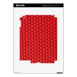Hi-Res macro image of a studded ping pong iPad 3 Skin