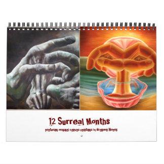Hi-resCreationPainting, Apparition, 12 Surreal ... Calendar