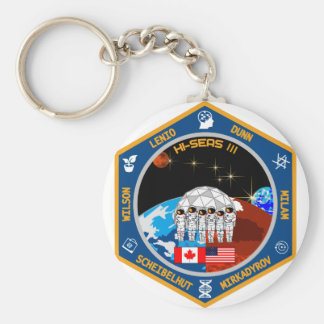 HI-SEAS Mission III Gear Keychain