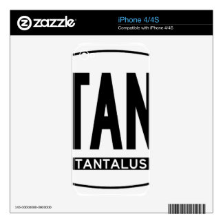 Hi-TANALUS-Sticker Decals For The iPhone 4