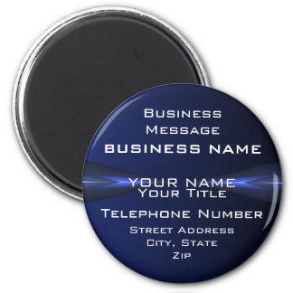 Hi Tec Futuristic Business Magnets