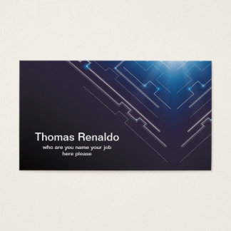 hi tech business card