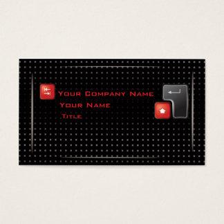 Hi Tech Computer Business Card