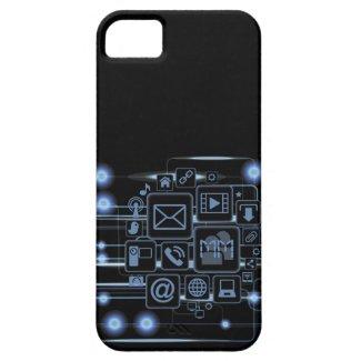 Hi-Tech Concept Initials iPhone 5 Case