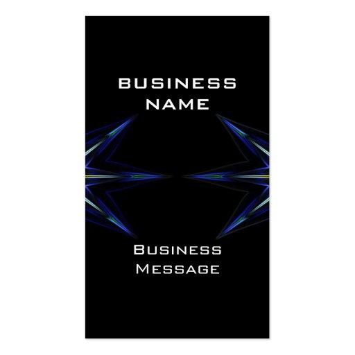 hi tech futuristic business card template zazzle