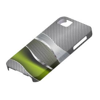 Hi Tech Futuristic Mesh Chrome Acid iPhone 5 Cover