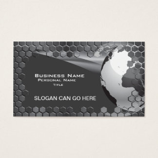 Hi-Tech Global Business b/w Business Card