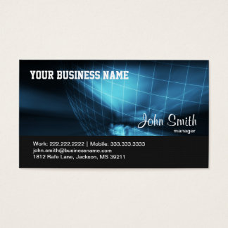 Hi-tech Global Company business card
