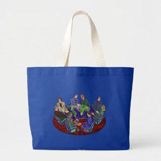Hi Tech Global Interacting Large Tote Bag