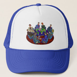 Hi Tech Global Interacting Trucker Hat