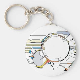 HI-TECH Keychain