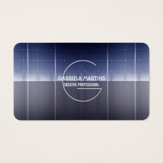 hi tech modern and professional business card