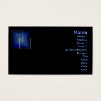 Hi-Tech Profile Card