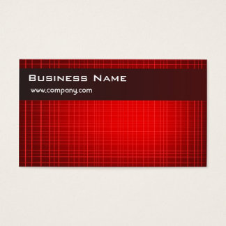 Hi-Tech Red Business Card