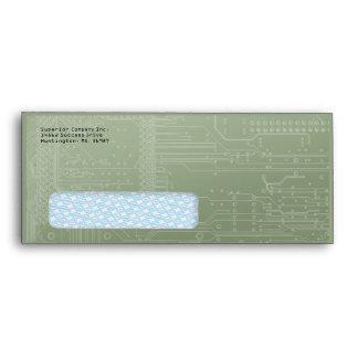 Hi Tech Security Tint Window Business #10 Envelope