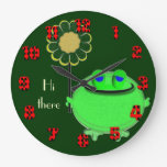 Hi there froggie and daisy clocks